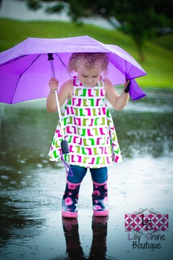 Showers & Flowers Pinafore