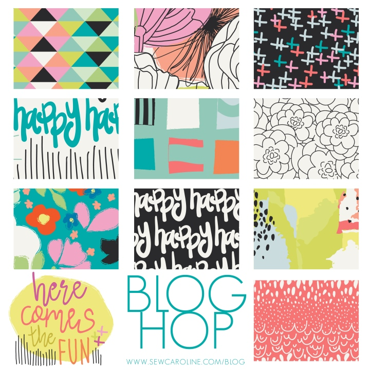 Here Comes the Fun {Blog Tour} with Sew Caroline!