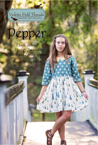 Pepper dress by Violette Field Threads