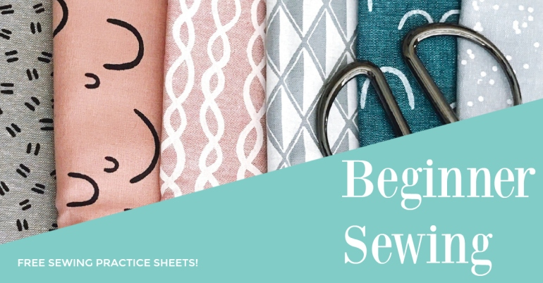 Beginner Sewing graphic