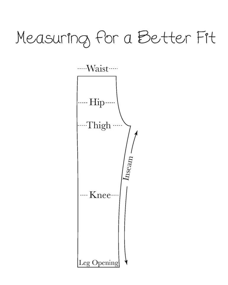 Measuring Pants
