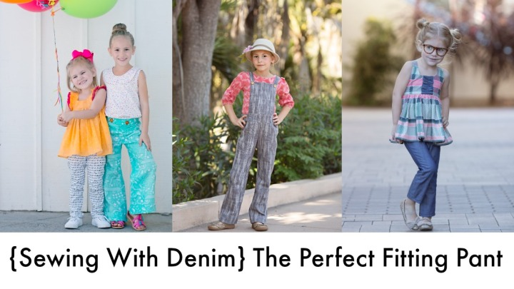 {Sewing with Denim} The Perfect Fitting Pant