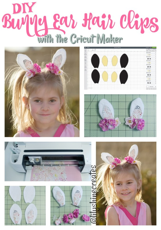 Pinterest Bunny Clip cricut maker collage