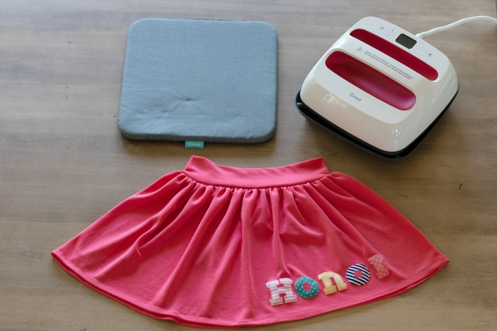 DIY Personalized Knit Skirt with the Cricut Easy Press 2