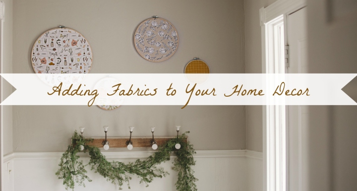 Entryway Nook Makeover: Adding Fabrics to Your Home Decor