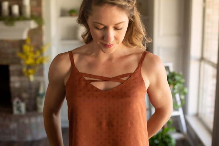 Ogden Cami by True Bias Criss Cross DIY Pattern Hack