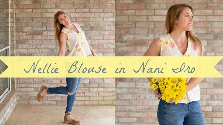 DIY Fashion- Nellie Blouse in Nani Iro