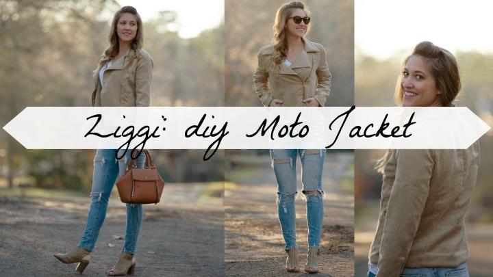 Ziggi Jacket: DIY MotoJacket