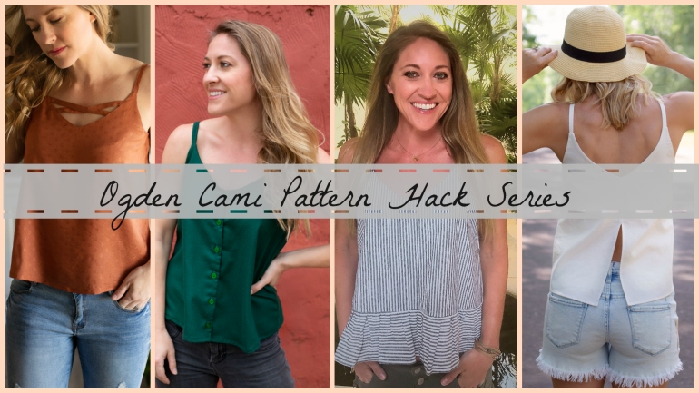 Ogden Cami Pattern Hack- DIY Split Back