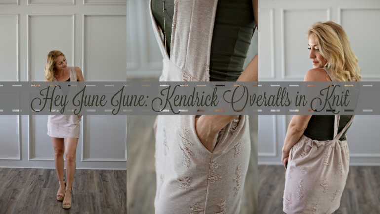 DIY Overalls in Knit: Kendrick Hey June Handmade