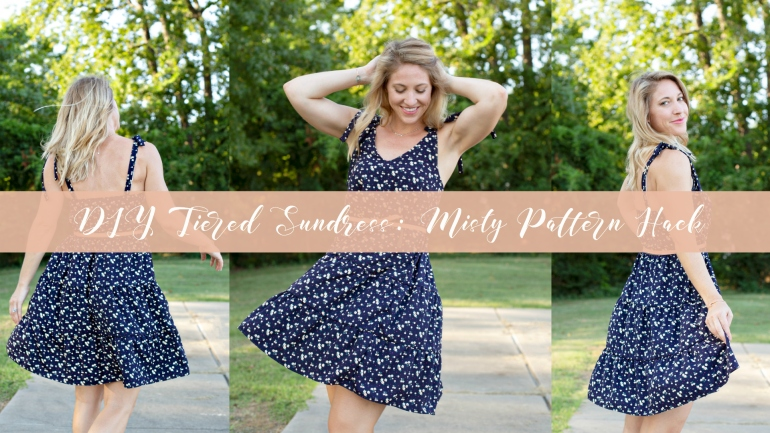 Misty Top and Dress from Sew Altered Style: DIY Tiered Sundress by @LilyShineCreates