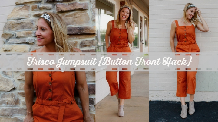 Frisco Jumpsuit {Button Front Hack}