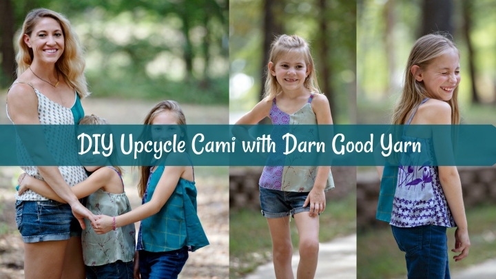 DIY Upcycle Cami with Darn Good Yarn