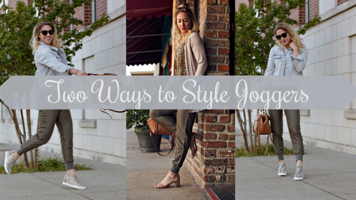 Fall Wardrobe Builder: Two Ways to Style Joggers
