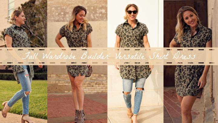 Fall Wardrobe Builder: A Versatile ShirtDress