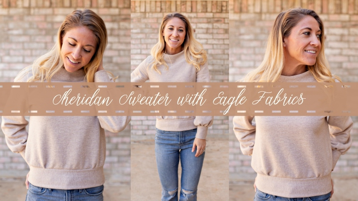 Sheridan Sweater with Eagle Fabrics
